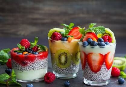 chia-pudding variationen